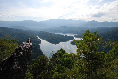 View from peak of bukit Tabur
