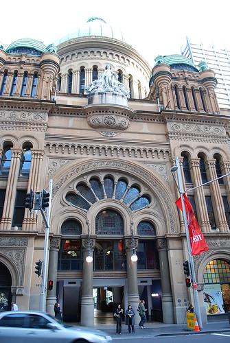 Entrance - QVB Sydney