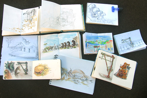 Group Sketchbook Photo