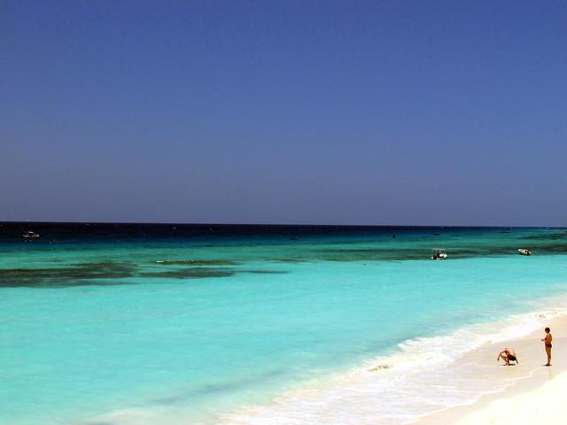 Beach and Indian Ocean - Zanzibar - Unguja island - Tanzania, Africa