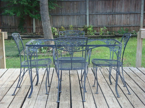Superior Vintage Woodard Patio Set All