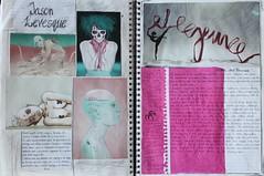 Sketchbook pages (magdalenasledzikowska) Tags: colour college idea artist sketchbook passion sketchbookpages artistresearch
