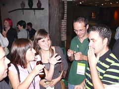 En la espicha de Fundamentos Web 2007