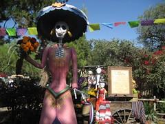 Disneyland's Día de los Muertos section. (09/30/07)