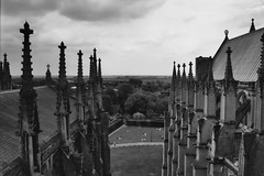 View from Ely Cathedral