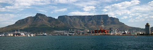 Cape Town from the Atlantic Ocean