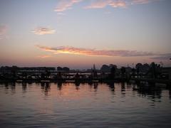 椎の木湖の夜明け