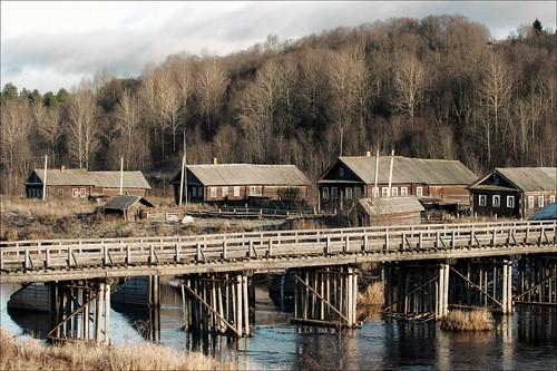 Вокруг Онежского озера 2007 // дер. Саминский погост.