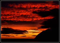 Red sky in the morning (ccgd) Tags: sunrise dark scotland highlands brooding cromarty sutor coastuk