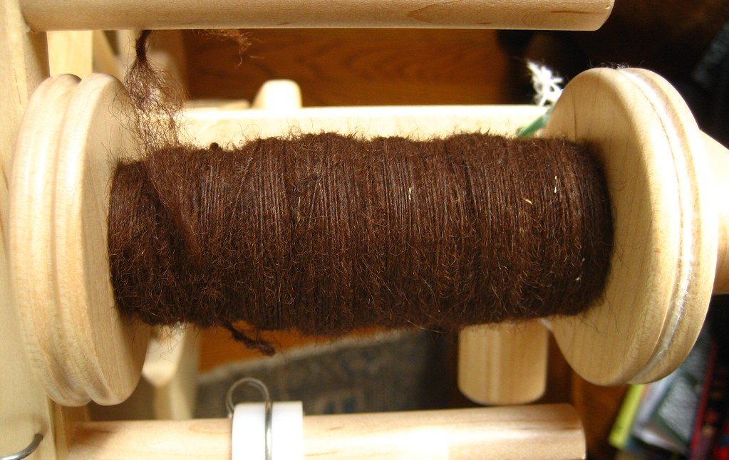 Chocolate Alpaca- Bobbin 1