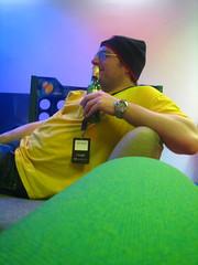 Ross relaxes