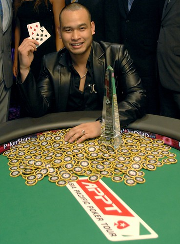 Dihn Le winner of the APPT Macau 2007