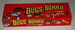 Topps Bugs BUnny Tattoo box