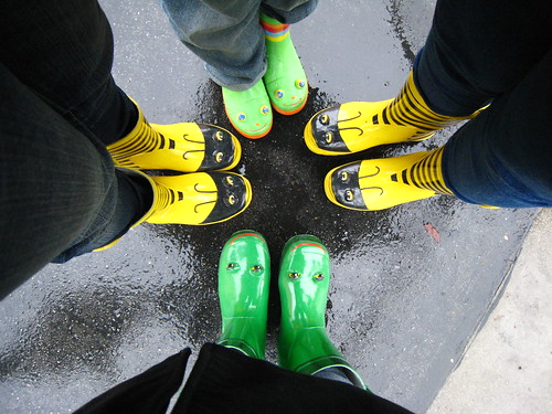 Rain boots! by hi_sonia.