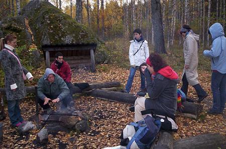 Barbacoa: típico finlandés