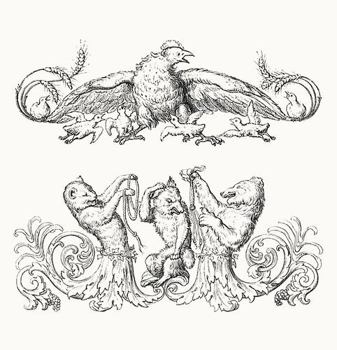 Wilhelm von Kaulbach - Reineke Fuchs, 1857 (Goethe) p19 (coconino)