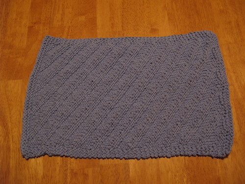 Ripple Towel Blue