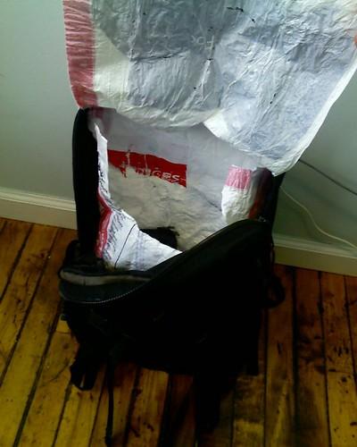 DIY Waterproof Liner for Any Bag, Practically Free! - Bike Forums