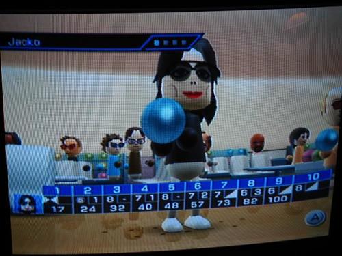 Jacko bowls a decent game