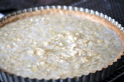 Unbaked Almond Tart