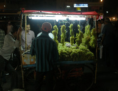 Grape stall near the Charminar