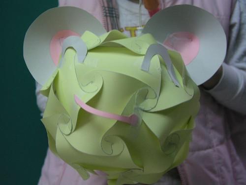 IQ Light 完成品—加上老鼠造型