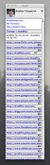 Brad as a torture test (Tom Insam (old)) Tags: brad screenshot shelf exif:missing=true