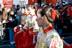 Dancing Ladies, Chinese New Year Parade