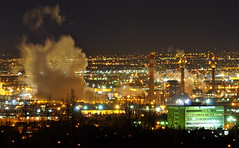 North Denver Night Steam (Fort Photo) Tags: city longexposure urban cold night dark landscape lights evening nikon colorado industrial nightscape nocturnal denver steam soe nocturne nighthawk commercecity d300 longtimeexposure singleexposure supershot 300f4 10faves spectnight nothdr abigfave impressedbeauty theperfectphotographer excellentafterdark