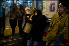 Waiting for the bus, late (Briggate.com) Tags: sleep leeds streetphotography busstop sleepy late barrisa leedsbynight nikond300 aadsc9376c utata:project=nocturnal2