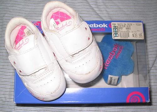 reebok sweets sz 3 infants $28