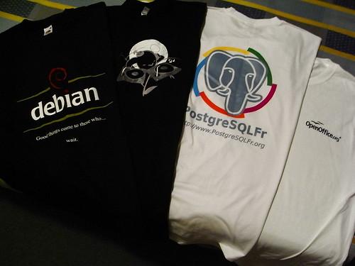 Things I got from FOSDEM 2008