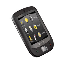 HTC Touch - 3qtr