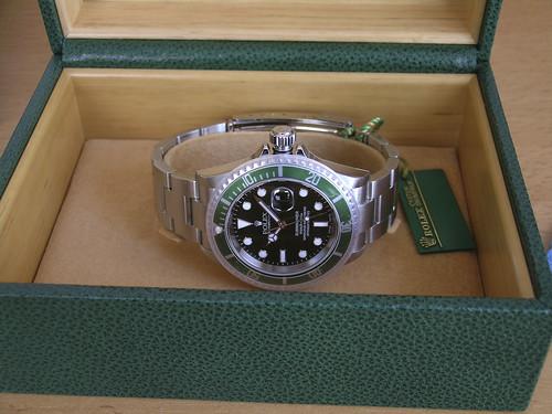 rolex submariner 50th anniversary special edition replica watch