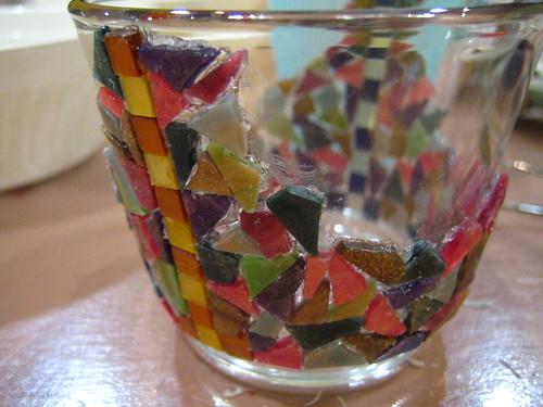 mosaic coin cup