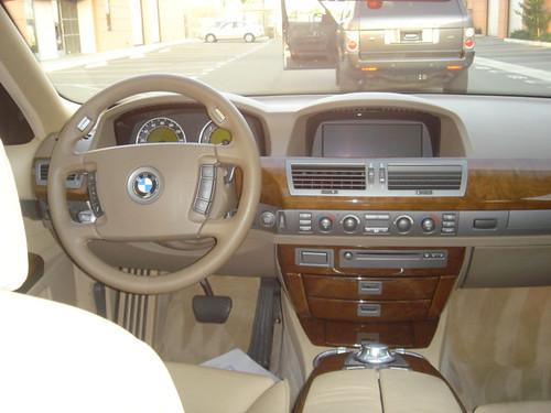 2003 BMW 745Li Interior