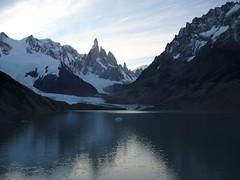 Fitz Roy - trek - lagune - glacier - sommets - crepuscule