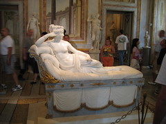 Paolina Borghese (Roma) (Marco La Rosa) Tags: italy sculpture rome roma art italia arte marble tp galleria canova borghese scultura marmo paolina bellitalia larosamarco marcolarosa