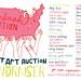 Silent Art Auction Event!!! Postcard design by Kate Bingaman-Burt!!