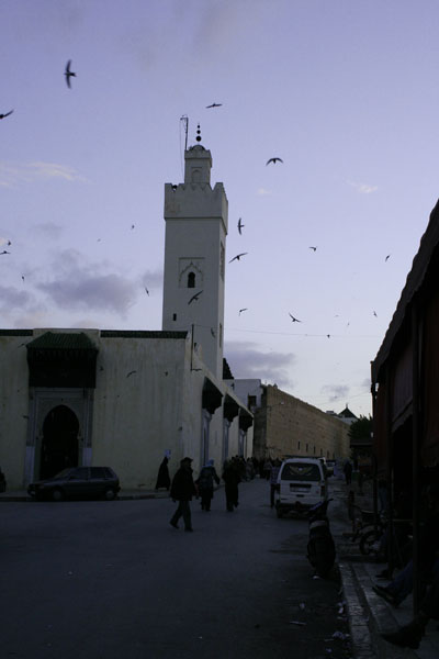 Sunset in Fès, Bab Bou Jeloud