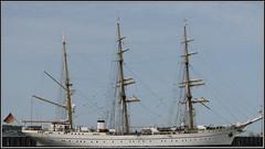 Gorch Fock (   flickrsprotte  ) Tags: canon marine wasser mai hafen ostsee kiel schleswigholstein gorchfock segelschulschiff mitgerlindeundjuttaunterwegs