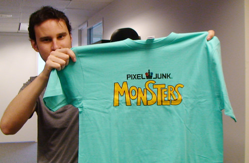 PixelJunk Monsters shirt