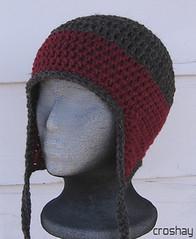 Peanutzmom's Pattern Place: Kid's Earflap Hat