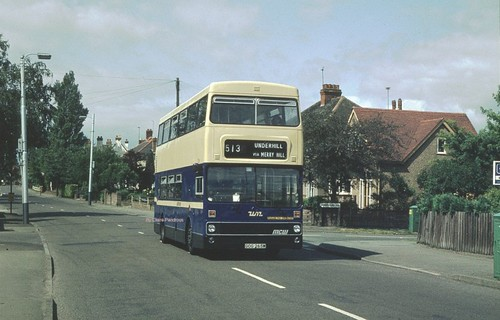 Trysull Road, Wolverhampton, July 1981.