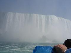 Horseshoe Falls from below (matt.farina) Tags: niagarafalls horseshoefalls americanfalls canadaniagarafalls