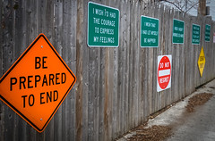 2017.02.12 Signs of Regret (of the dying) Brookland Neighborhood, Washington, DC USA 00605