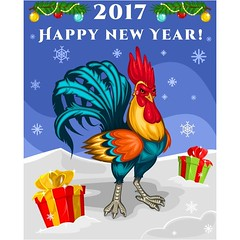 free vector Happy New Year 2017 Chicken Background (cgvector) Tags: 2017 abstract animal art artwork asian background bird calendar calligraphy card celebrate celebration chicken china chinese classic cock concept creative design east element festival festive gift gold golden graphic greeting happy illustration japan label lunar new newyear party pattern red rooster script sign silhouette style symbol tradition traditional vector year zodiac