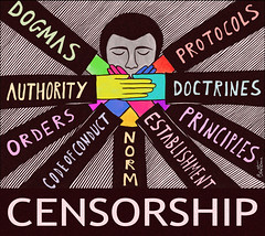 Censorship (Ben Heine) Tags: poetry poem silent power state report authority dream parties censorship prison thoughts silence torture wikipedia violence capitalism orders combat press imperialism deviantart racism religions establishment principles speak journalism struggle socialcommentary censure norm facebook tat ideology amnestyinternational politicalart 3monkeys rve xenophobia protocols contemporain muet codeofconduct dictature dogmas ralit petersquinn doctrines benheine xnophobie autorit 3singes nomoreignorance museler