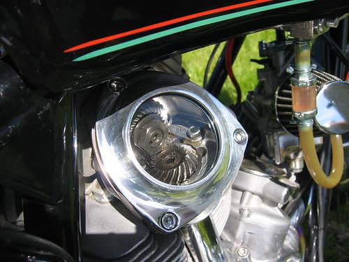 Vintage Ducati Bevel Gears OVM Vintage Motorcycle Show 5.17.09 006