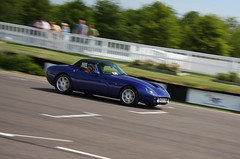 Griffith on track (RobertSteele) Tags: summer england speed canon westsussex britain fast hampshire racing motionblur griffith goodwood carshow tvr trackday tamora sagaris cerbera tag11 speed12 40d canon40d w112bhg